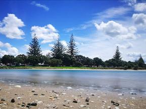 Orewa Beach, Southern end.