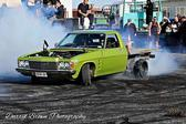 Helensville burnout competition.